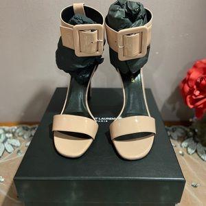 NWT Authentic Saint Laurent pale pink heels